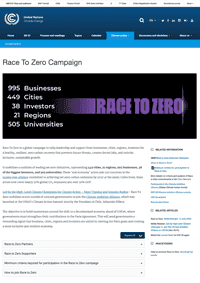 UN Race to Zero